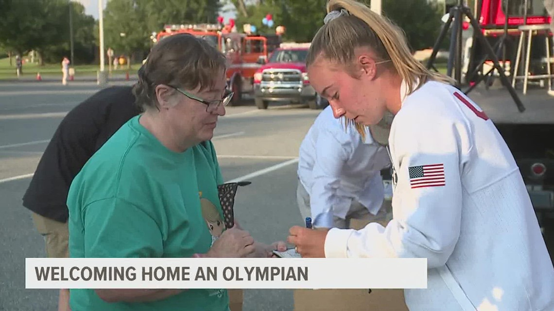 Conestoga Valley welcomes home archer Casey Kaufhold after competing in Tokyo Olympics