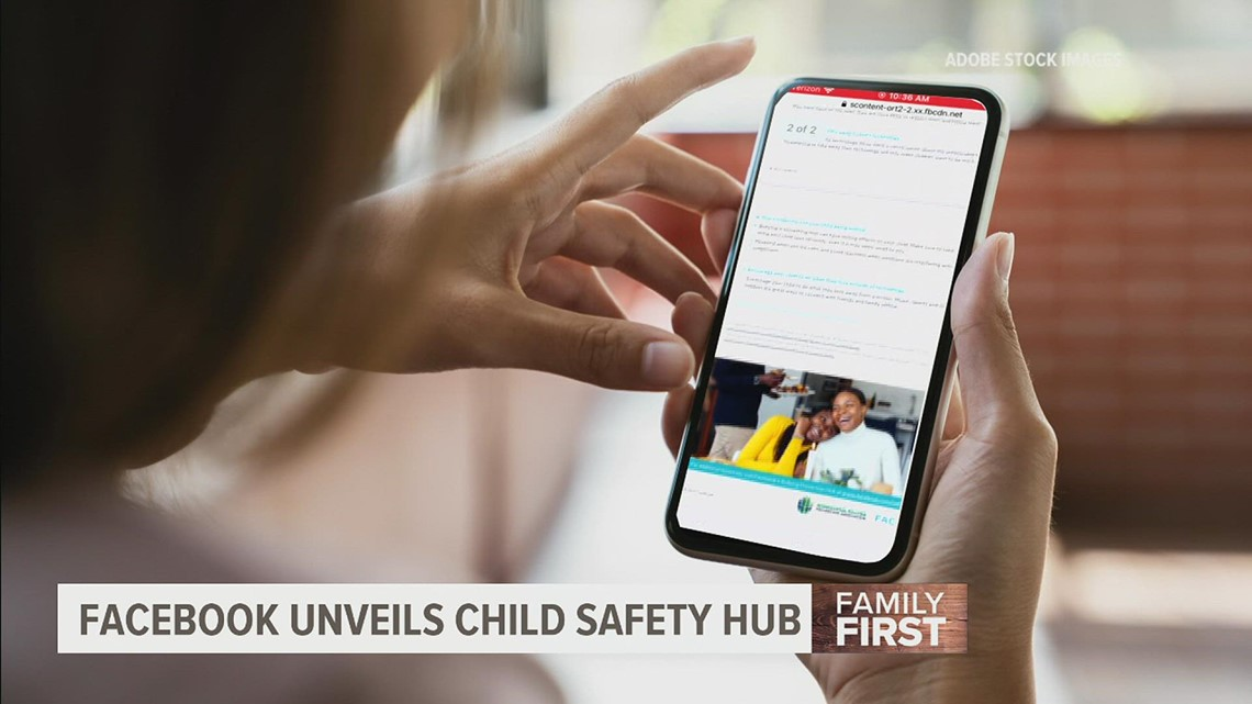 Facebook's new 'Child Safety Hub' leaves some parents skeptical   Family First with FOX43
