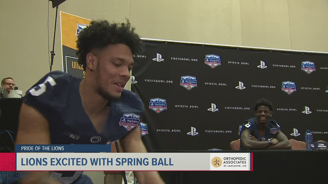 Pride of the Lions: Penn State players talk spring practice