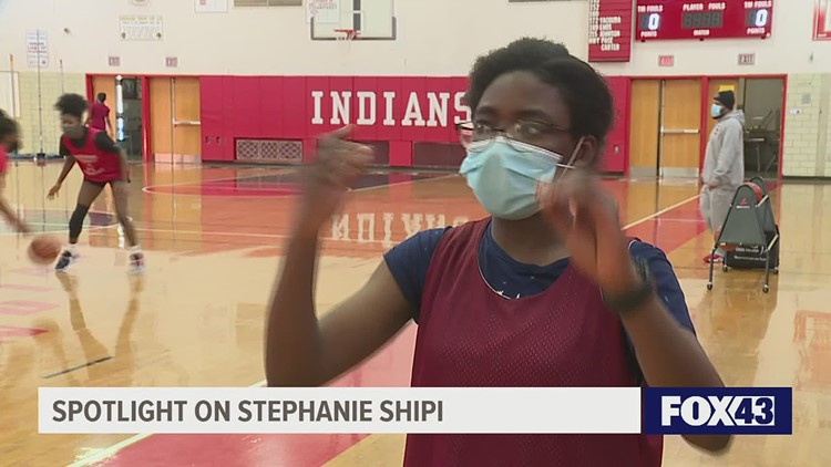 Player with hearing loss overcomes challenge to be on basketball court