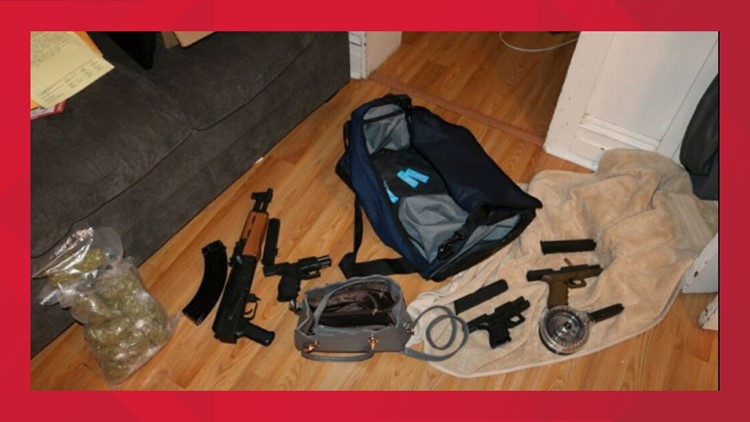 Suspect arrested, drugs and weapons seized during investigation of shots-fired incidents in York, police say