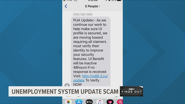 Scammers are using the unemployment system update to trick you | FOX43 Finds Out