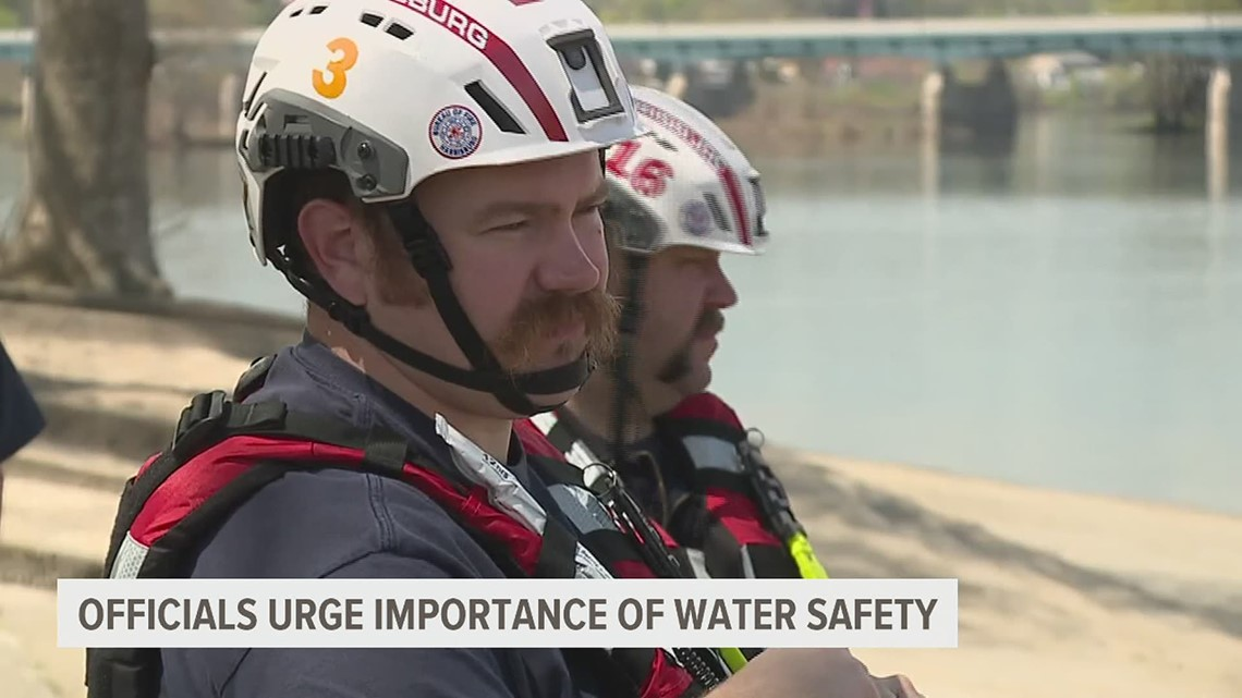 Officials urge importance of water safety as crews search for woman who disappeared in the Susquehanna River