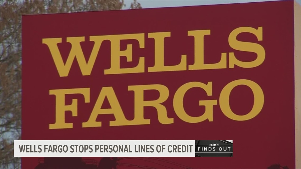 Wells Fargo shuts down personal lines of credit. Here's how it impacts you | FOX43 Finds Out