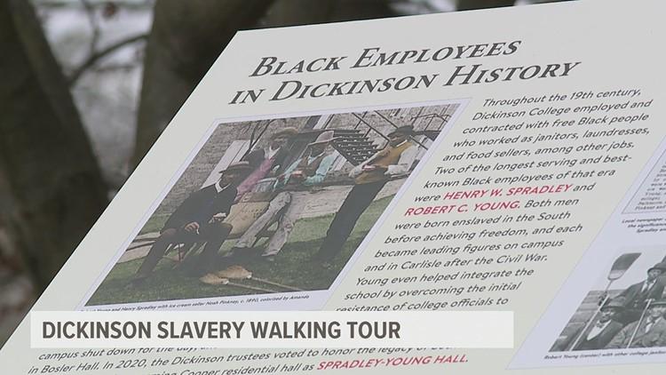 Dickinson slavery walking tour