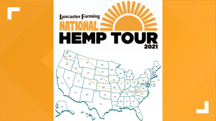 State agriculture secretary among speakers expected at launch of nationwide industrial hemp tour Monday