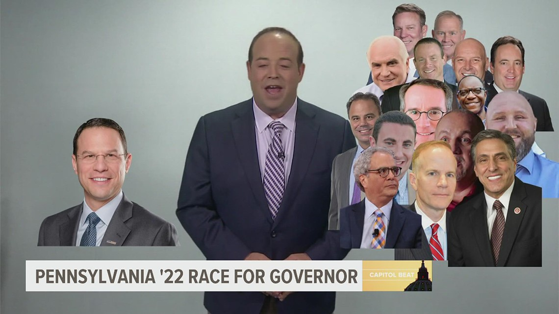 Pa. governor field in 2022 takes shape as Shapiro enters the race | FOX43 Capitol Beat