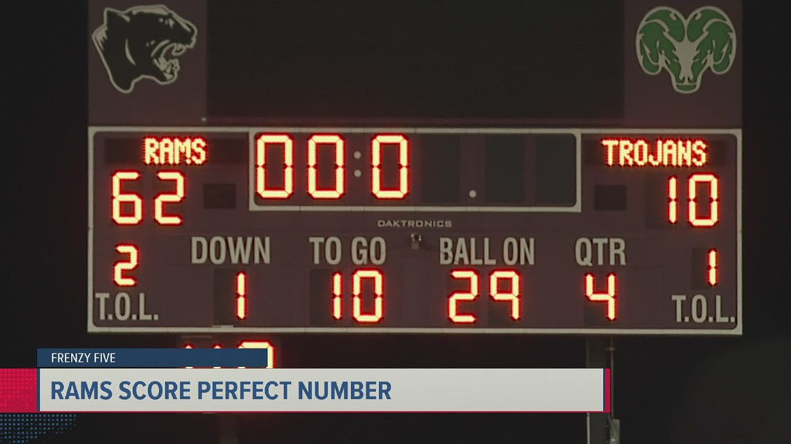 Frenzy Five: CD scores perfect number