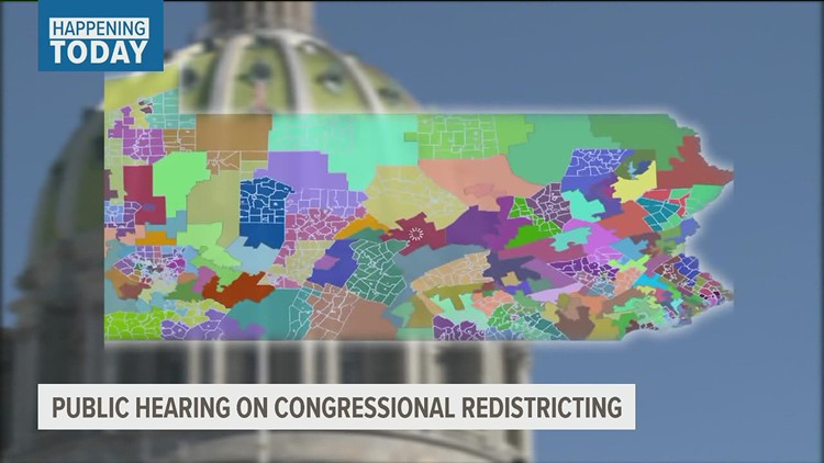 State government committee to host public hearing on redistricting