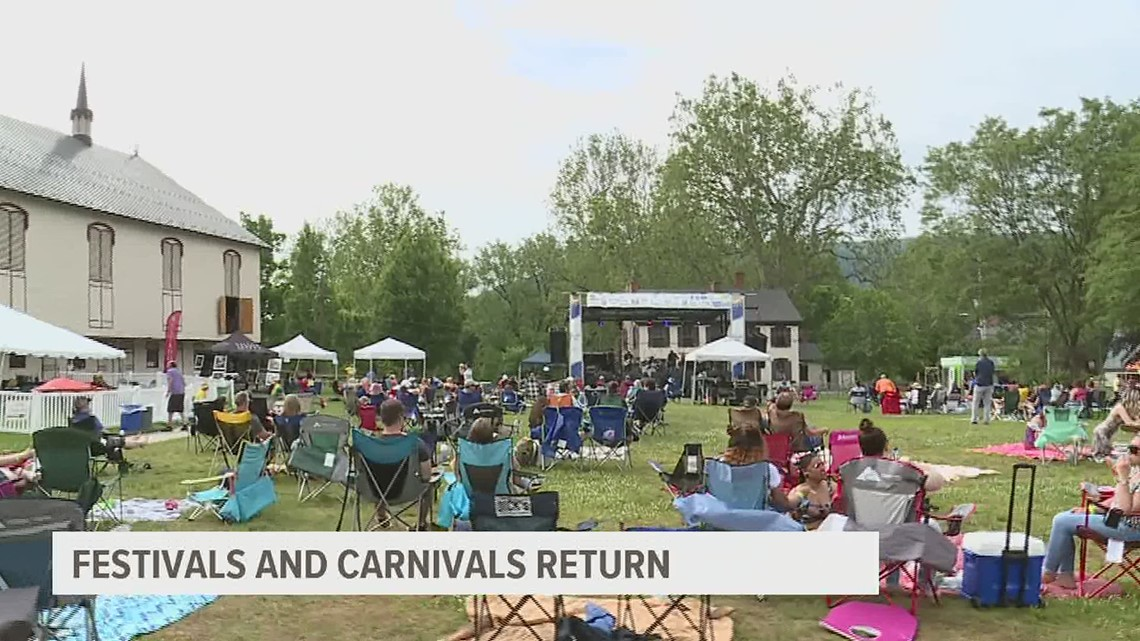 Festivals and carnivals return to Central PA providing support to local businesses and volunteer organizations