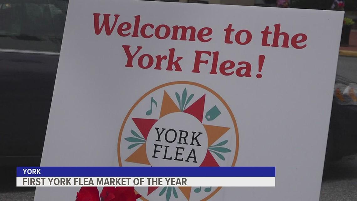 York Flea celebrates first flea market of the year