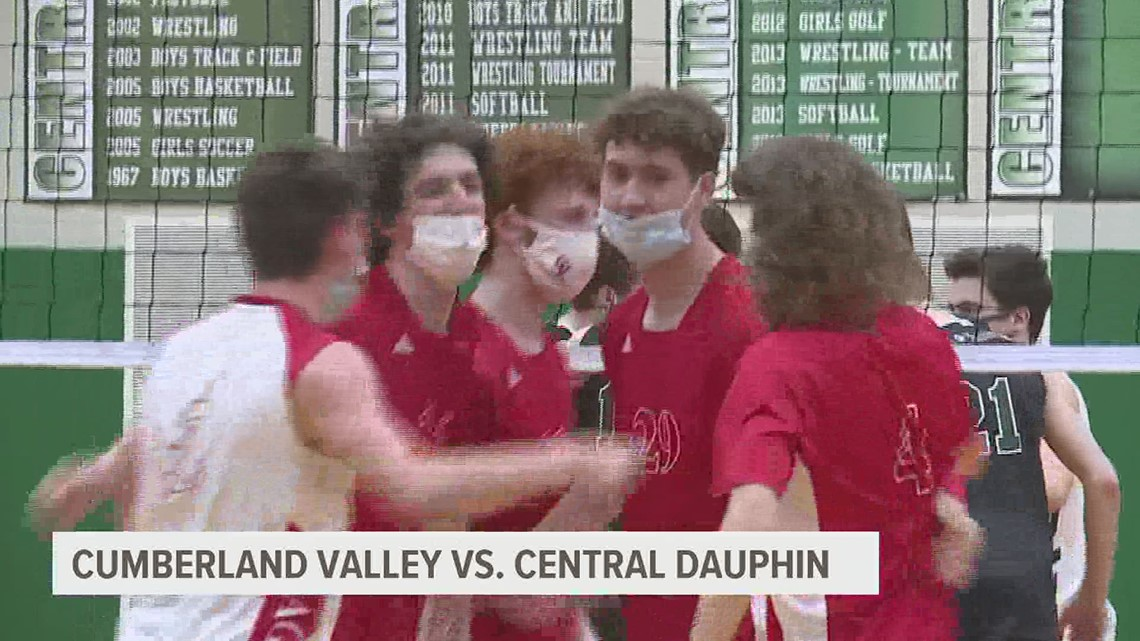 Cumberland Valley tops Central Dauphin on volleyball court, 3-1