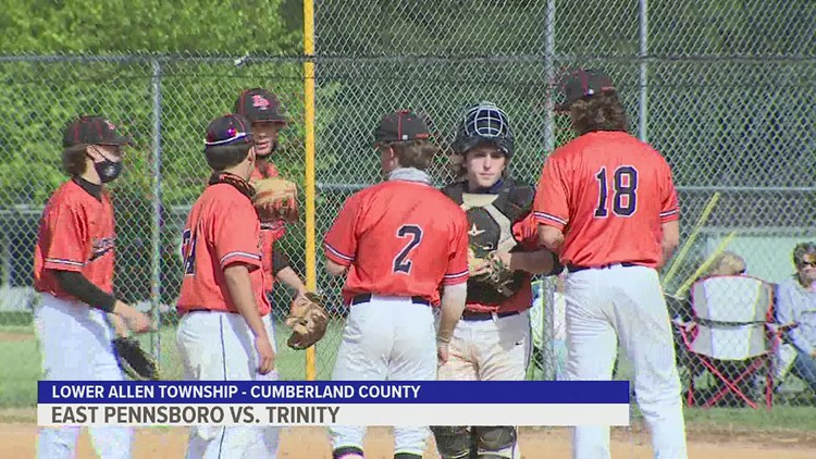 East Pennsboro downs Trinity, 9-2