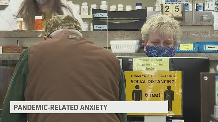 Feeling overwhelmed in public spaces or anxious about going back to work? Medical professionals say you're not alone