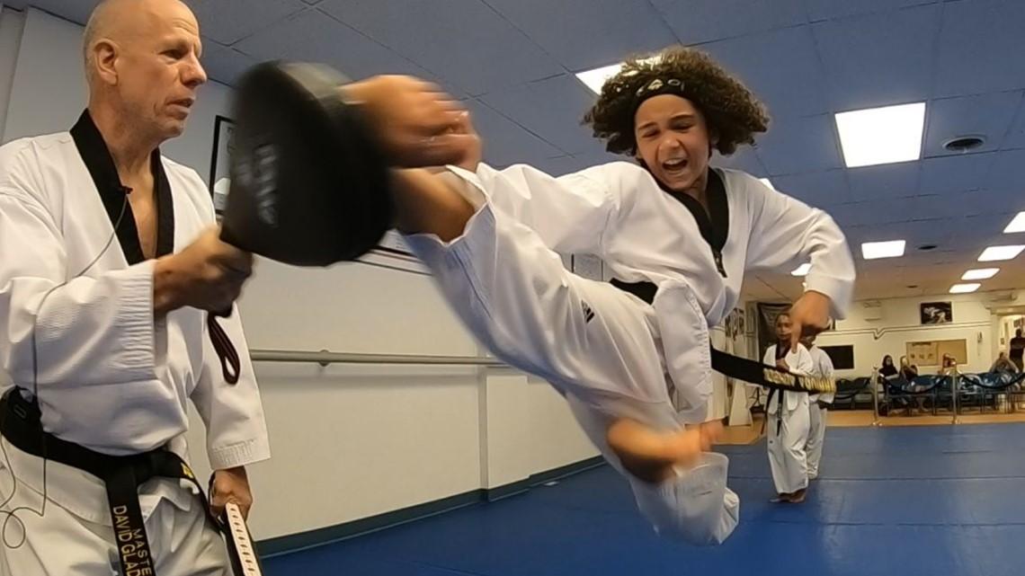 Lebanon's Aguirre, the 'Future of Taekwondo,' prepares for Junior Olympics and beyond