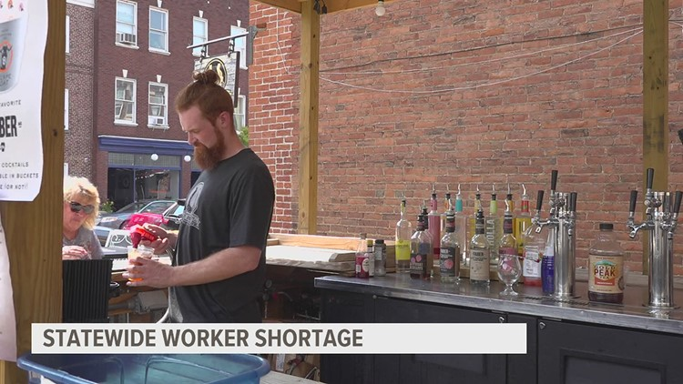 Businesses get creative to hire amid worker shortage