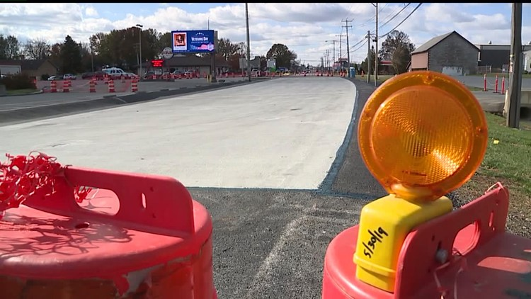 Lane restrictions planned on Route 422 in Lebanon County so workers can check on sinkhole repairs