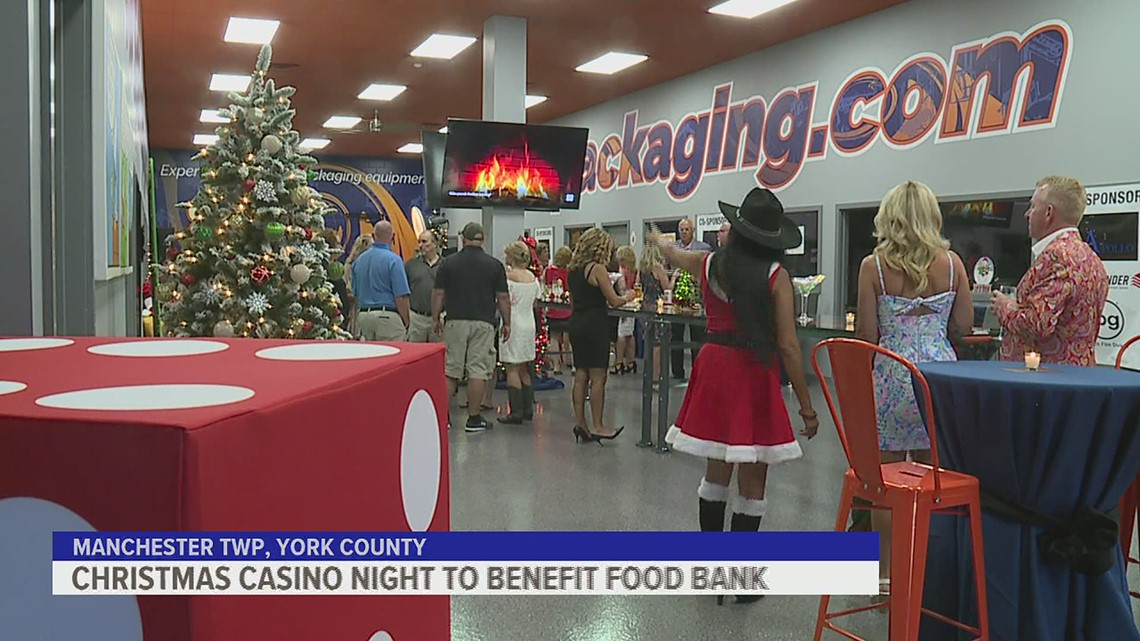 York Food Bank holds Casino Night
