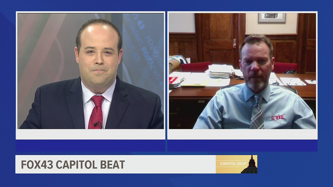 Capitol Beat: State Sen. Dan Laughlin discusses bill to legalize recreational marijuana in Pennsylvania