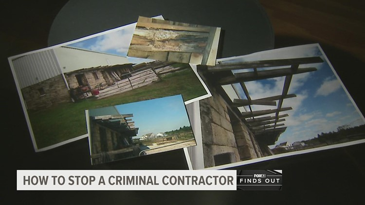 A group of victims banded together to stop a criminal contractor