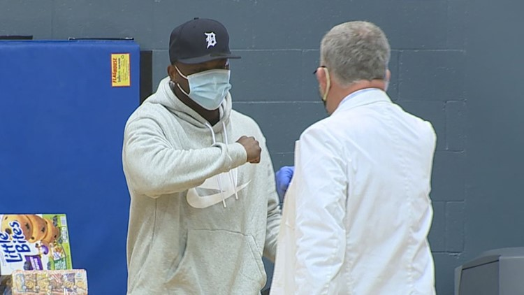 McCoy hosts vaccine clinic, moved by Parsons' draft night