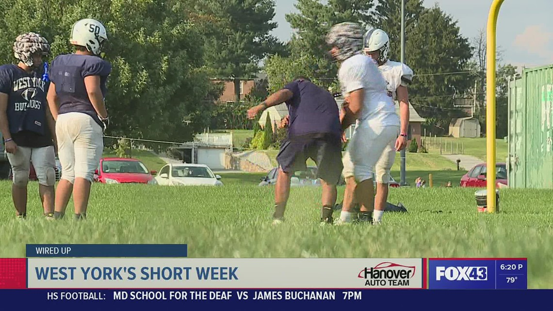 HSFF 'Wired Up' with West York's short week