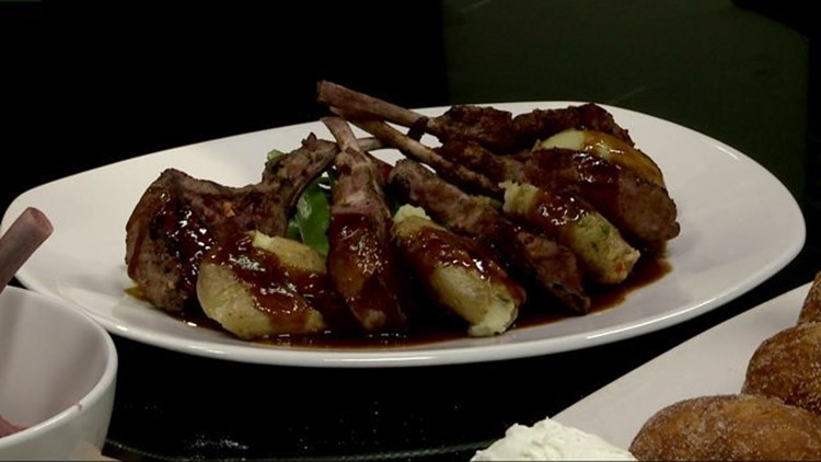 bonefish grill lamb lollipop chops recipe Bonefish Grill: Final product