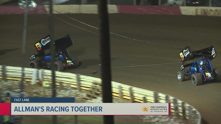 Allman's share the track; Dietrich takes one for the Posse   Fast Lane