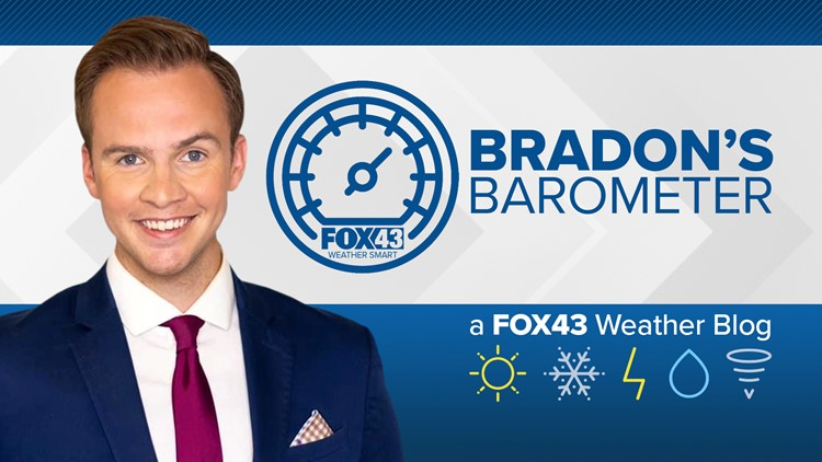 Bradon's Barometer: Fun fact, we can't see everything on radar