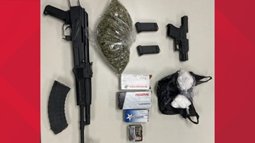Three arrested after guns, drugs seized in separate investigations in York