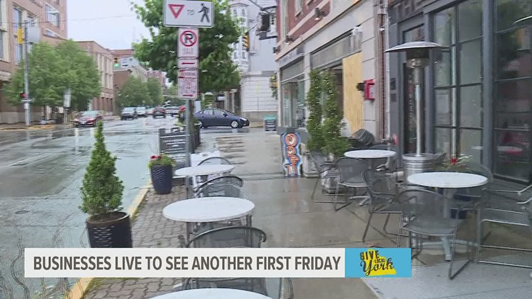 Downtown York businesses live to see another First Friday