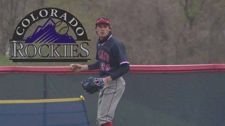 Red Land's Montgomery reacts to Rockies drafting him eighth overall