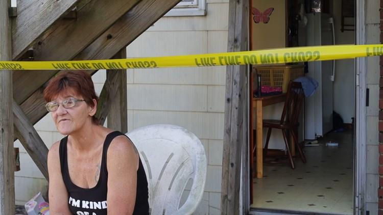Mujer del Condado de York se queda sin hogar después de las lluvias del Miercoles