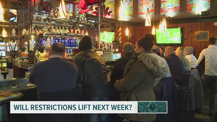Will officials lift restrictions January 4?