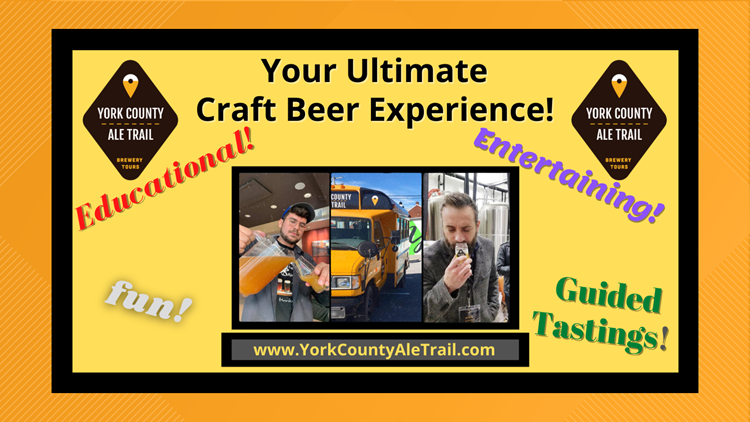 Try local brews in person and online with the York County Ale Trail | Something's Brewing