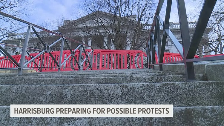 Harrisburg city officials, local businesses prepare for weekend before Inauguration Day