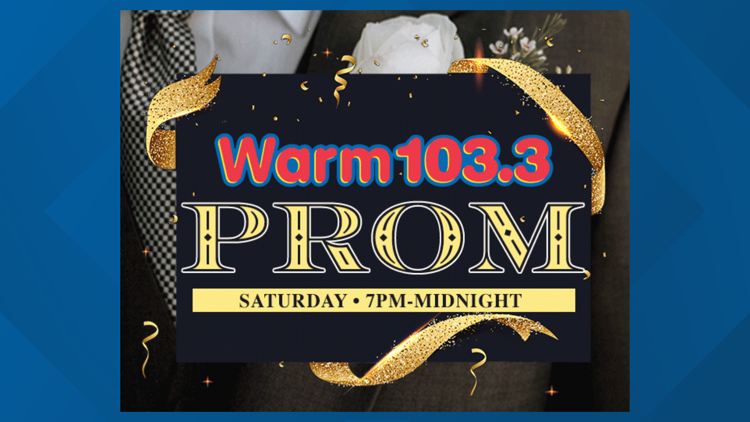 WARM 103.3 to host virtual prom