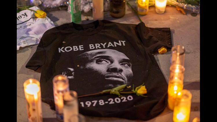 Young Kobe And Old Kobe Kids T-Shirt Kobe Bryant T-Shirt for Girls and Boys