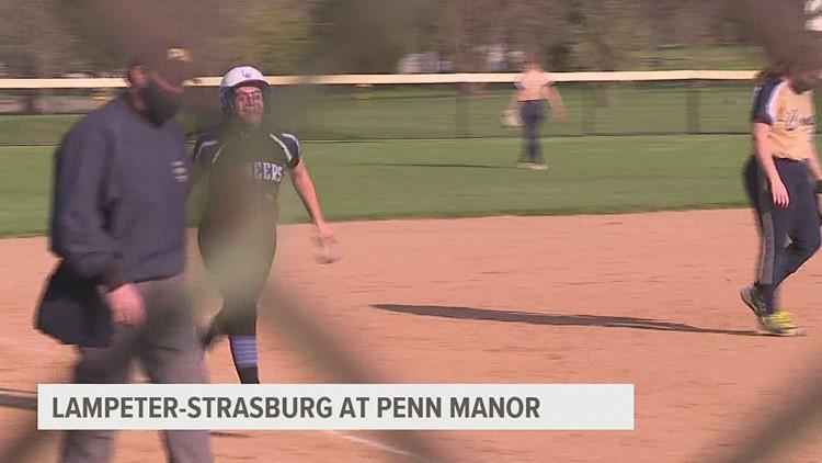 Lampeter-Strasburg softball, Northeastern volleyball earn key wins