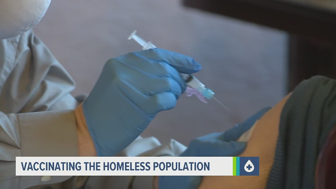 Central Pa. organizations working to get the homeless population vaccinated