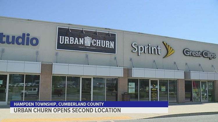 Urban Churn ice cream shop opens second location in Mechanicsburg