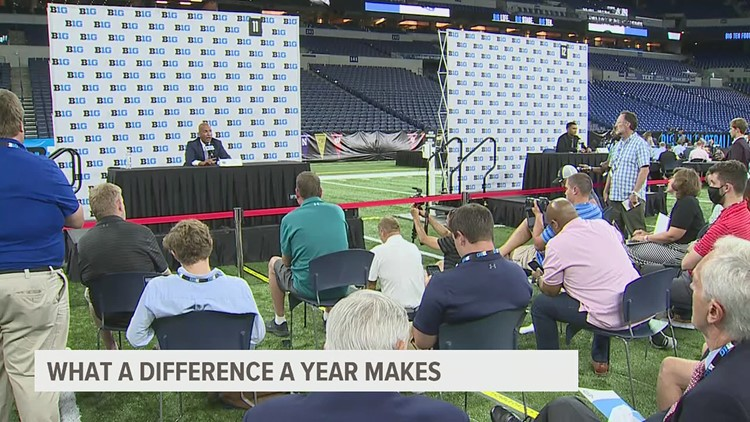 In-person Big Ten Media Days a welcomed sight for Nittany Lions