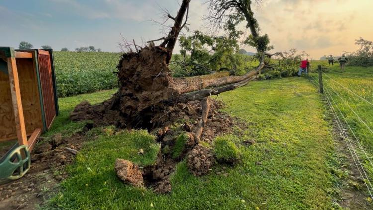 Lebanon County community members are still facing the aftermath of a tornado