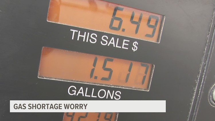 Experts warn trickle down effect of the panic at the pump could lead to more problems