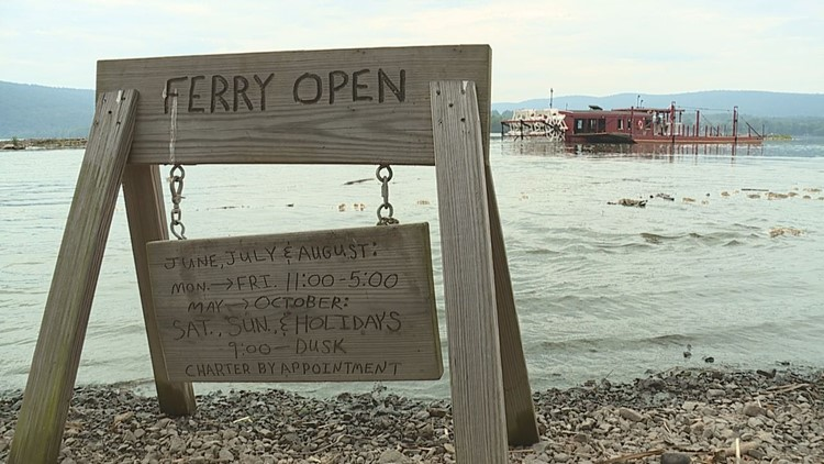 Last wooden paddleboat ferry in the nation paddles on in Millersburg after 200 years