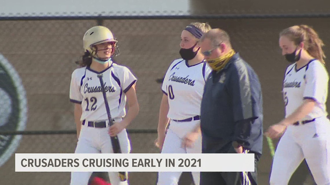 Crusaders cruise by Susquehanna Valley