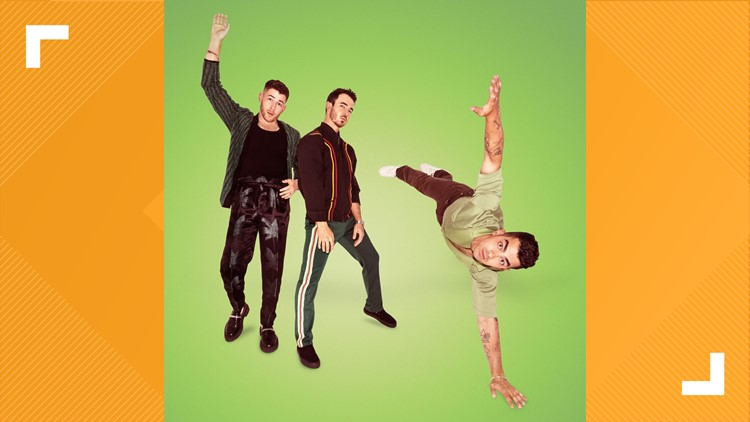 Jonas Brothers bringing tour to Walmart AMP in October