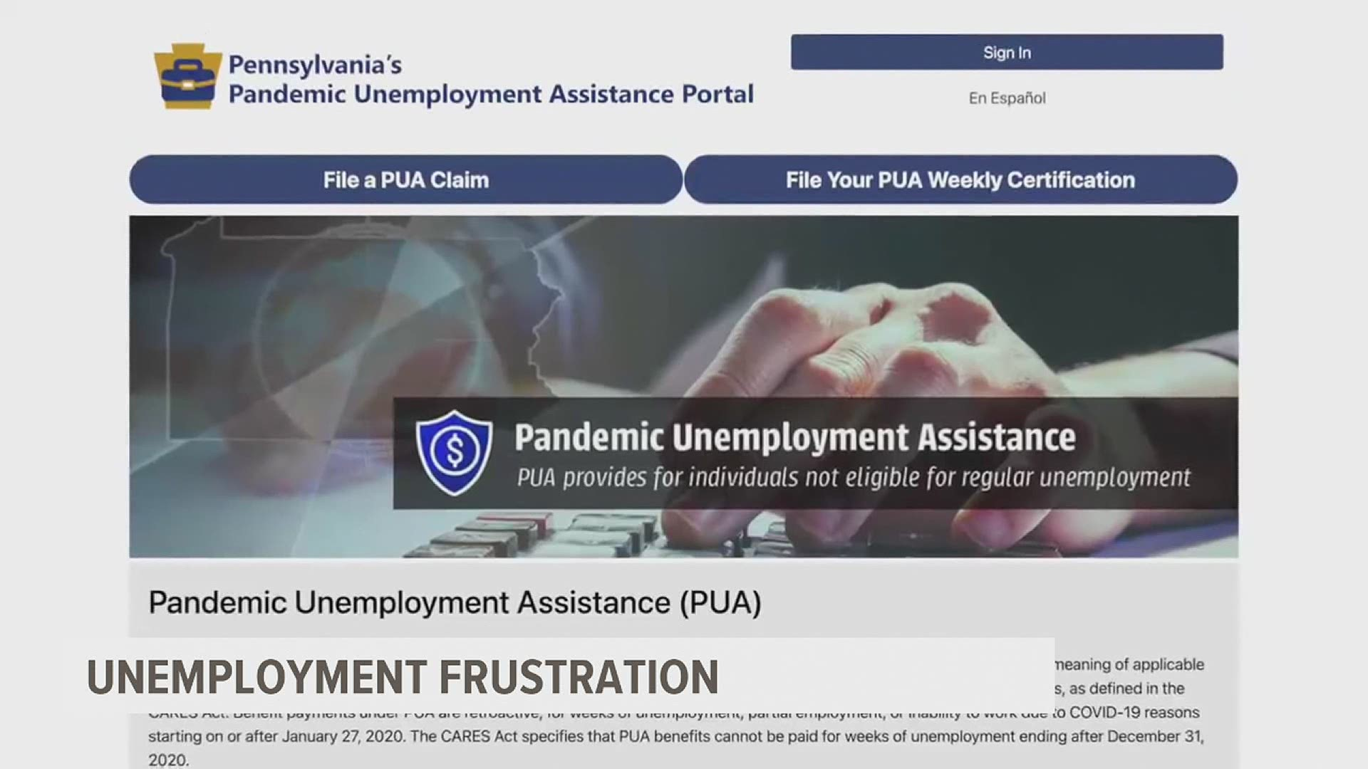 Clogged Phone Lines Delayed Payments What Is The Pa Unemployment Office Doing About It Fox43 Com