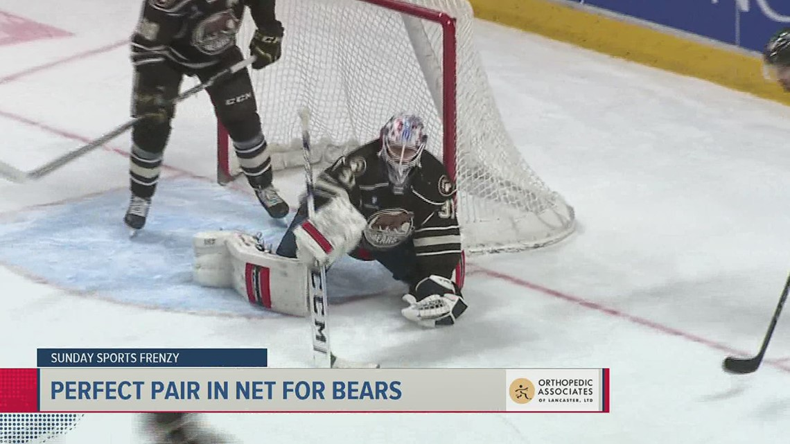 Perfect pair between the pipes in Hershey | Frenzy