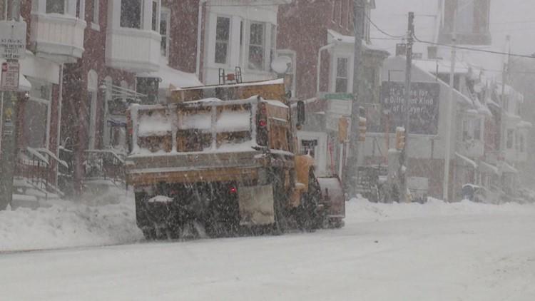 Lancaster declares snow emergency ahead of upcoming winter storm